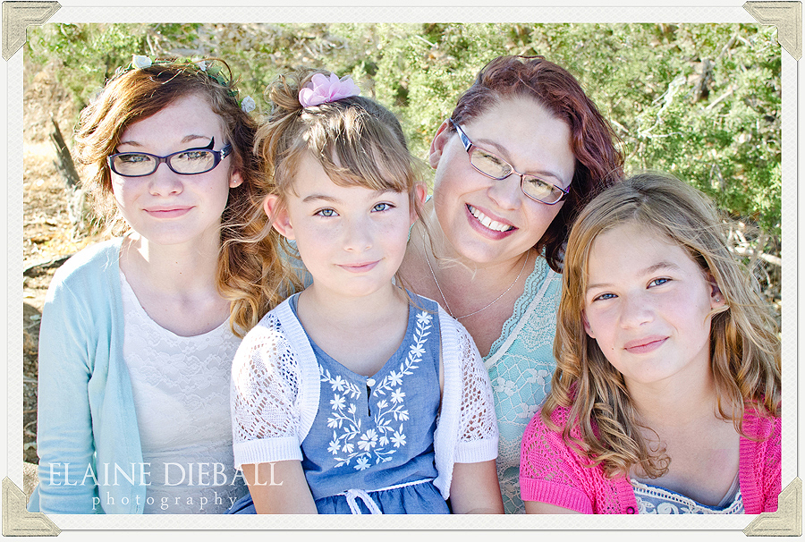 This is a family photo session at the Prime Desert Woodland Preserve in Lancaster, CA